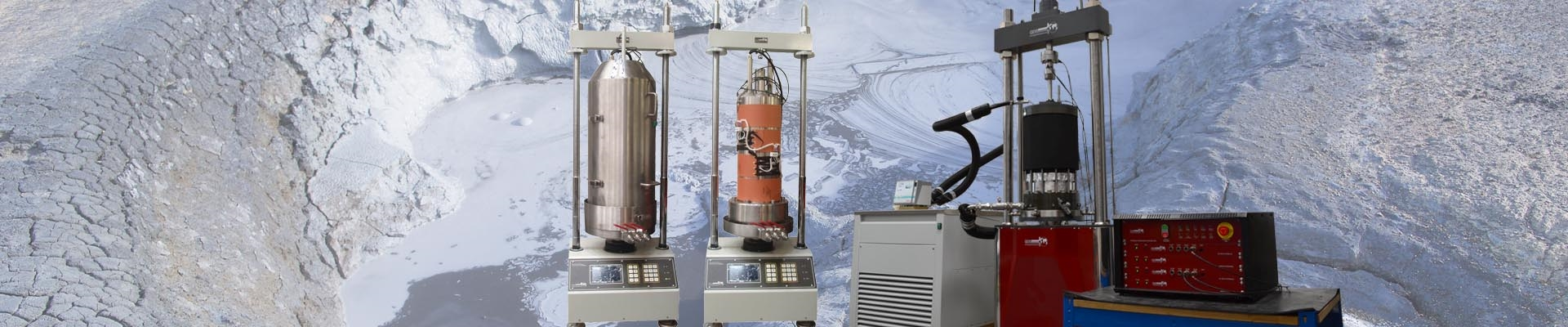 Environmental Triaxial Testing