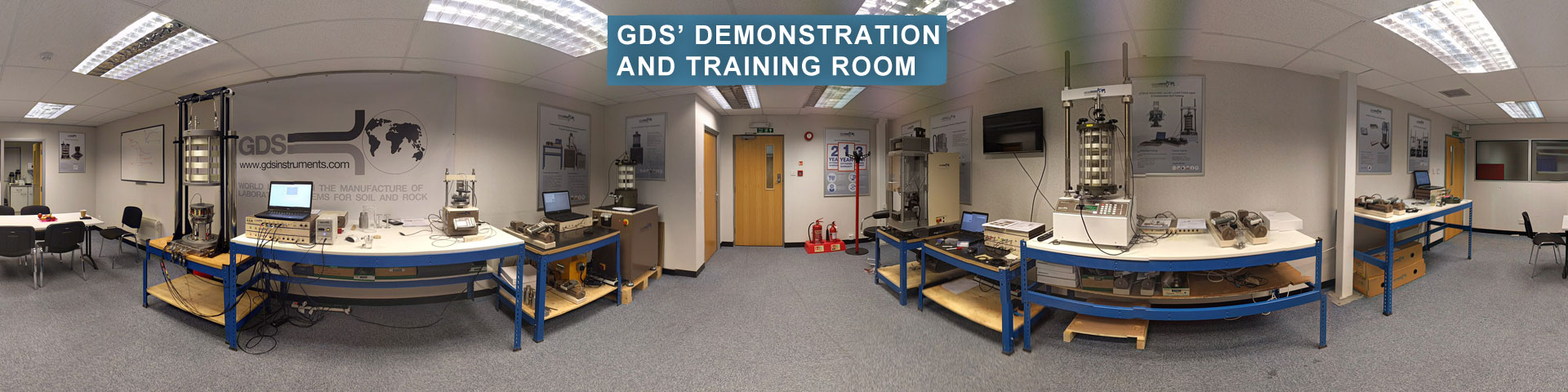 Our purpose built demonstration and training room provides you the opportunity to gets hands on with our apparatus