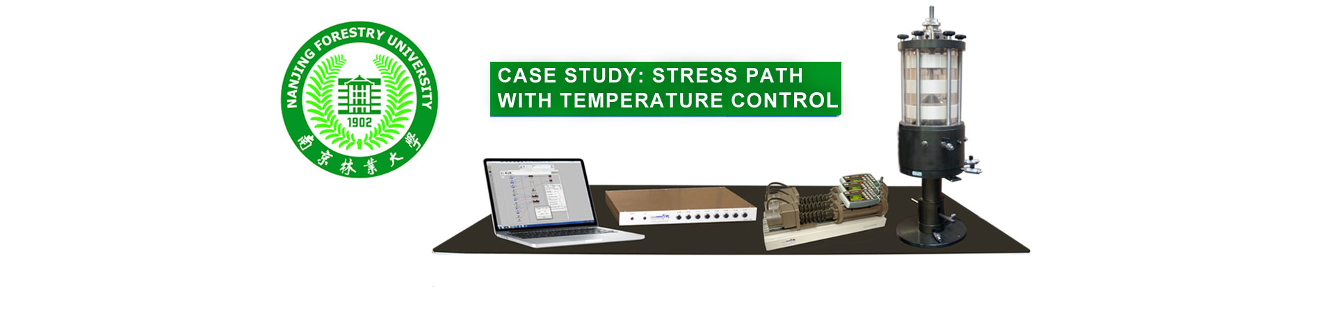 CASE STUDY: Temperature Controlled Stress Path Testing