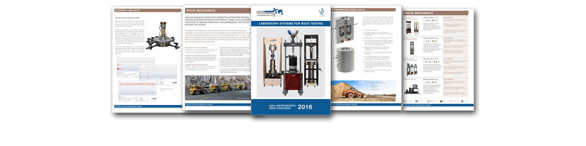 Download our Latest Rock Brochure