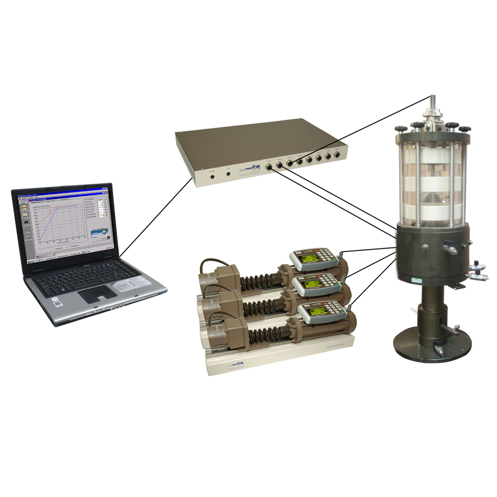 Triaxial Testing System (Automated Stress Path type)